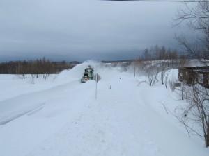 暴風雪2月末