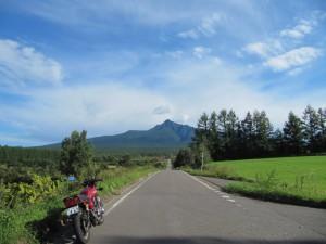 斜里岳ロード